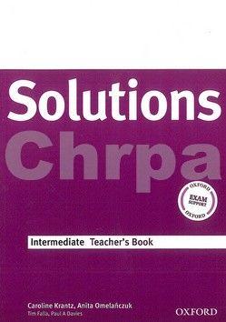 Oxford University Press Maturita Solutions Intermediate Teacher's Book cena od 384 Kč