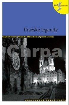 Lída Holá: Pražské legendy - Adaptovaná česká próza + CD (AJ,NJ,RJ) cena od 140 Kč