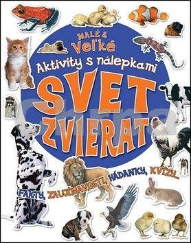 Aktivity s nálepkami - Svet zvierat cena od 0 Kč