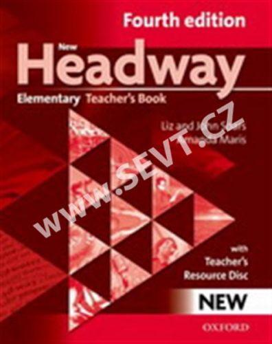 Soars John and Liz: New Headway Fourth Edition Elementary Teacher´s Book with resource disc cena od 408 Kč