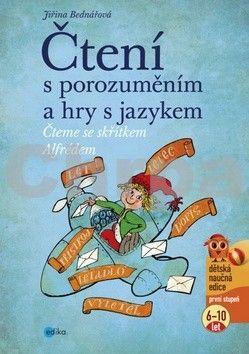 Jiřina Bednářová: Čtení s porozuměním a hry s jazykem cena od 115 Kč
