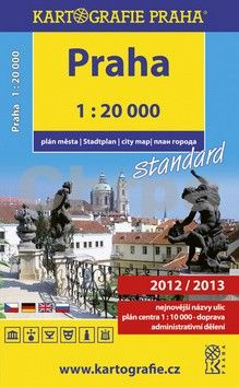 Kartografie PRAHA Praha cena od 98 Kč