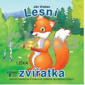 Ján Vrabec: Lesní zvířatka cena od 49 Kč