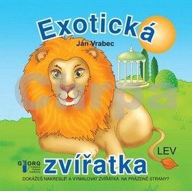 Ján Vrabec: Exotická zvířatka cena od 49 Kč