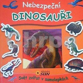Kolektiv: Nebezpeční dinosauři - Svět zvířat v samolepkách cena od 50 Kč