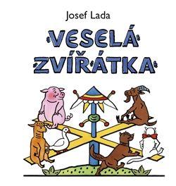 Josef Lada: Veselá zvířátka cena od 39 Kč