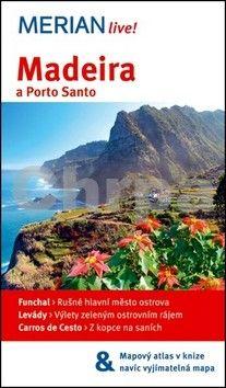 Beate Schümann: Merian 5 - Madeira a Porto Santo + mapa cena od 178 Kč