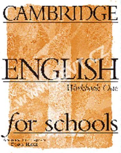 Cambridge University Press CAMBRIDGE ENGLISH FOR SCHOOLS 1 - WORKBOOK cena od 199 Kč