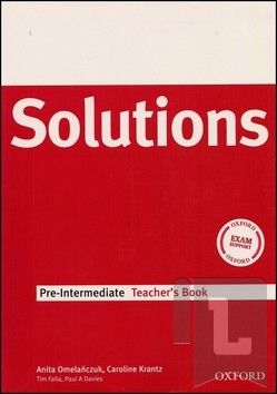 OXFORD University press Maturita Solutions pre-intermediate Teacher's Book cena od 488 Kč