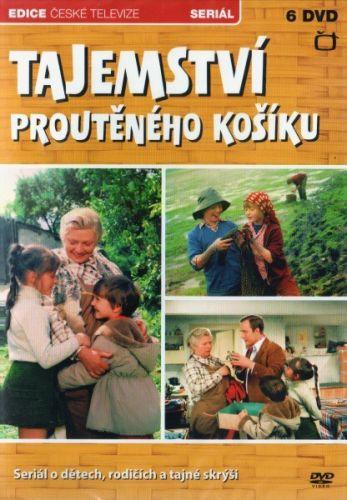 DVD Tajemství proutěného košíku - 6 DVD