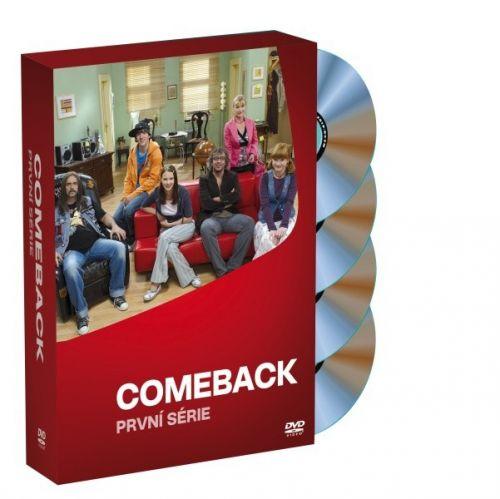 Bontonfilm Comeback - 1. sezóna KOMPLET - 4xDVD DVD