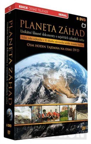 DVD Planeta záhad - 8 DVD