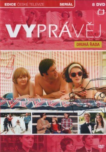 DVD Vyprávěj - 2. řada - 8 DVD
