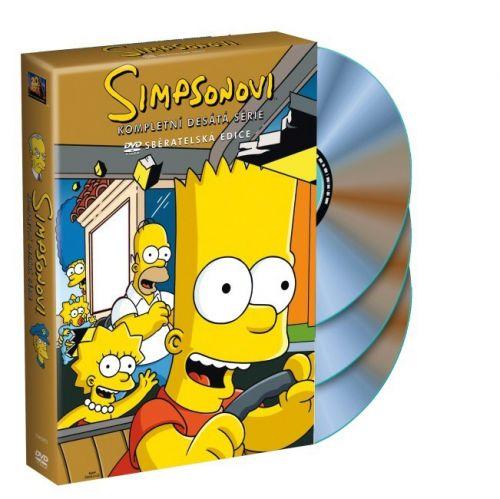 Bontonfilm Simpsonovi 10. sezóna 4xDVD (23 dílů) DVD cena od 599 Kč