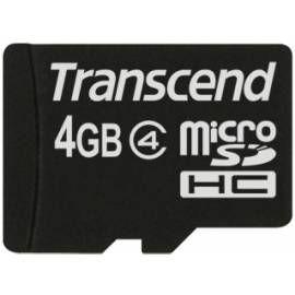 Transcend Micro SDHC Class 4 4 GB cena od 120 Kč