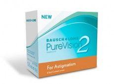 Bausch & Lomb PureVision 2 for Astigmatism (6 čoček)