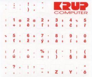 OEM české přelepky na klávesnici