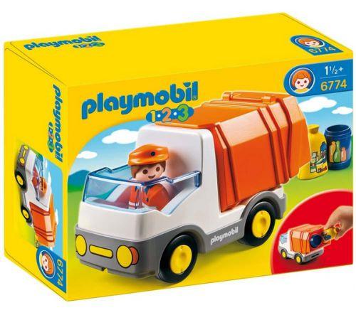 PLAYMOBIL Popelářské auto 6774