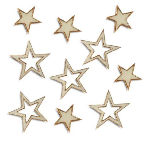 Papstar Wooden Stars vánoční dekorace