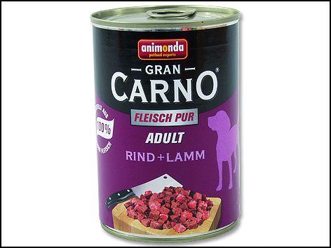 ANIMONDA Gran Carno Adult hovězí + jehněčí 400 g