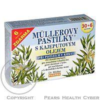 DR.MüLLER Müllerovy pastilky s kajeputovým olejem 30 ks