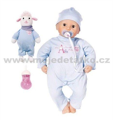 Zapf Baby Annabell chlapeček cena od 1398 Kč