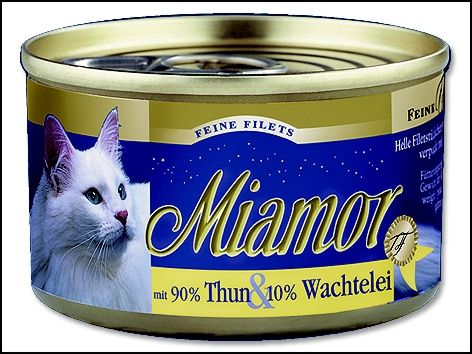 MiamorFilet tuňák + křepelčí vejce 100 g
