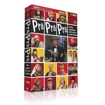 DVD Pra Pra Pra - F. Ringo Čech - 7 DVD