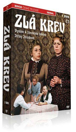 DVD Zlá krev - 7 DVD