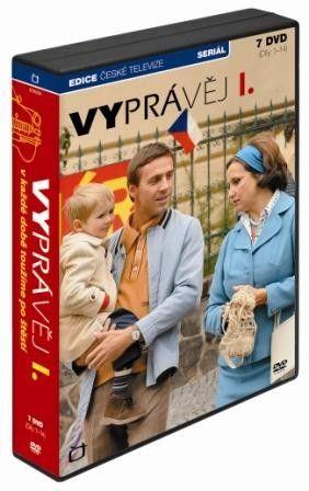 DVD Vyprávěj - 13 DVD + 1 CD
