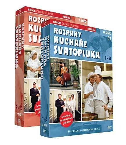 DVD Rozpaky kuchaře Svatopluka - 13 DVD