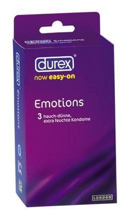 DUREX Emotion 3 ks