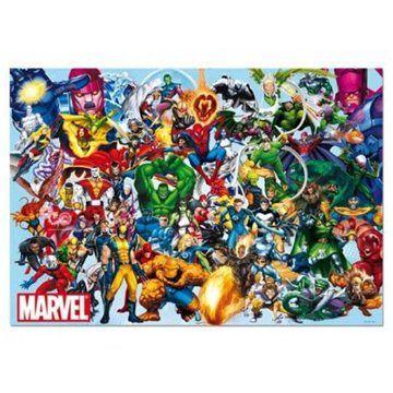 EDUCA Hrdinové Marvel