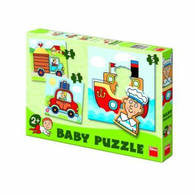 Dopravní prostředky - Baby puzzle