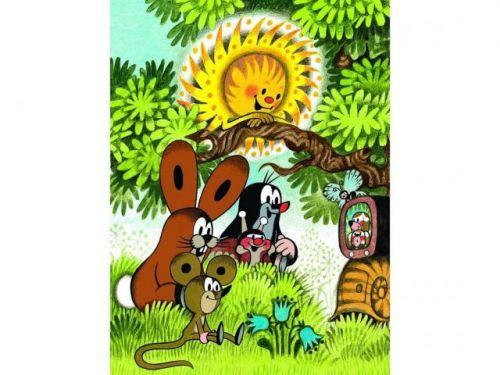 Léto s Krtkem - Puzzle 2x48