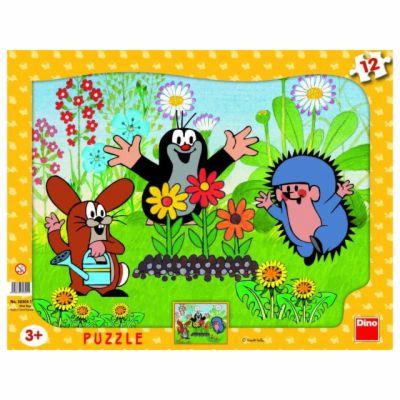 Krtek zahradník - Puzzle 12 tvary