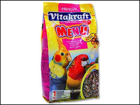 VITAKRAFT Menu Honey Gross Sittich 1 kg