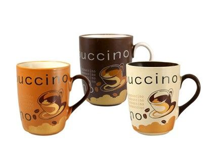 BANQUET Hrnek Cappuccino 3 assorted cena od 46 Kč