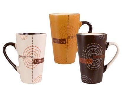 BANQUET Hrnek Coffee collection 3 assorted cena od 39 Kč