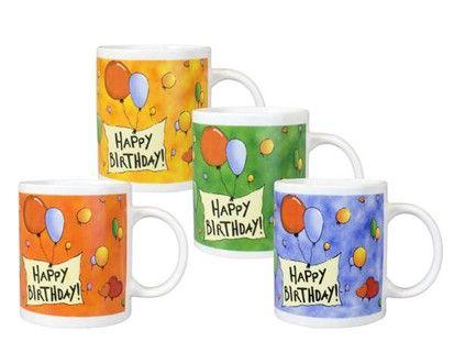 VETRO-PLUS Hrnek Happy Birthday ass. cena od 23 Kč