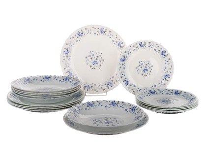 BANQUET talířová sada 18-ti dílná Amalie Opal OK cena od 699 Kč