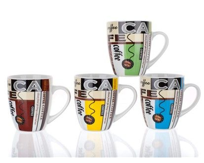 BANQUET Hrnek kávové zrno, assorted cena od 50 Kč