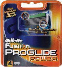 Procter & Gamble GILLETTE Fusion Proglide Power 4 náhradní hlavice