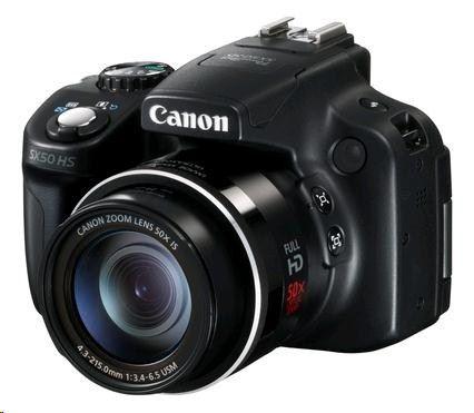 Canon PowerShot SX50 HS cena od 13390 Kč