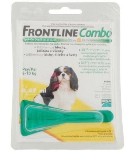 Merial Frontline Combo Spot on Dog S 1x1 pipeta 0.67 ml