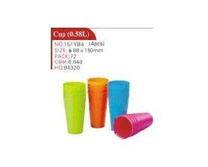 VETRO-PLUS Pohár nápojový plastový 3-dílná sada, 0,58 L cena od 38 Kč
