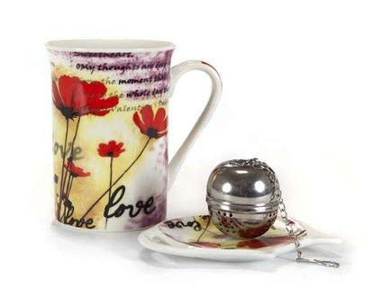 BANQUET 3d čajová sada Poppy, OK cena od 89 Kč