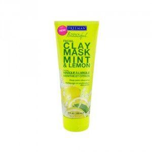Freeman Jílová pleťová maska s mátou a citronem (Facial Clay Mask Mint & Lemon) 150 ml