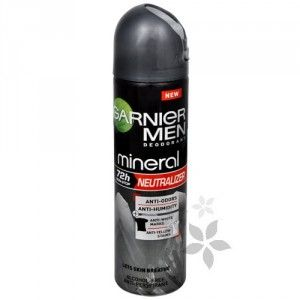 Garnier Minerální antiperspirant ve spreji (Mineral Neutralizer Men) 150 ml
