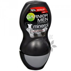 Garnier Minerální antiperspirant roll´on (Mineral Neutralizer Men) 50 ml